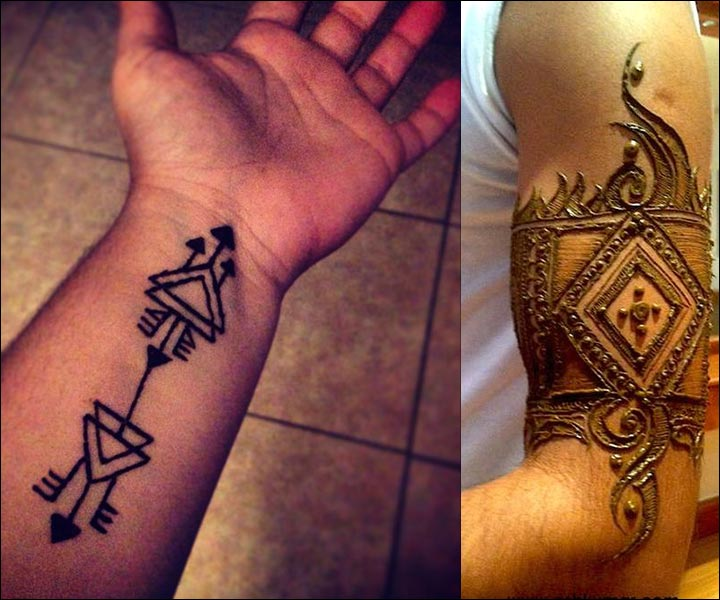 Male Henna Tattoos: Don't Miss The 10 Cool And Artistic
