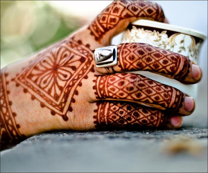 Mehndi Designs For Fingers - Full Finger Design