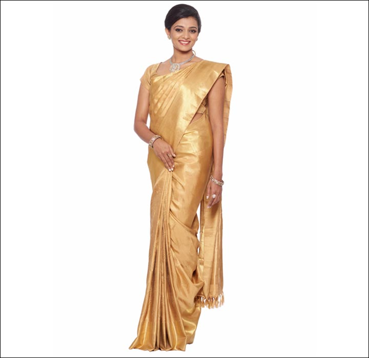 Golden-Kancheepuram-Saree