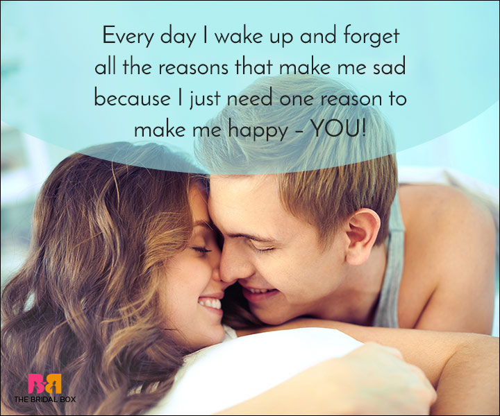 Good Morning Love Quotes - I Forget Why I'm Sad