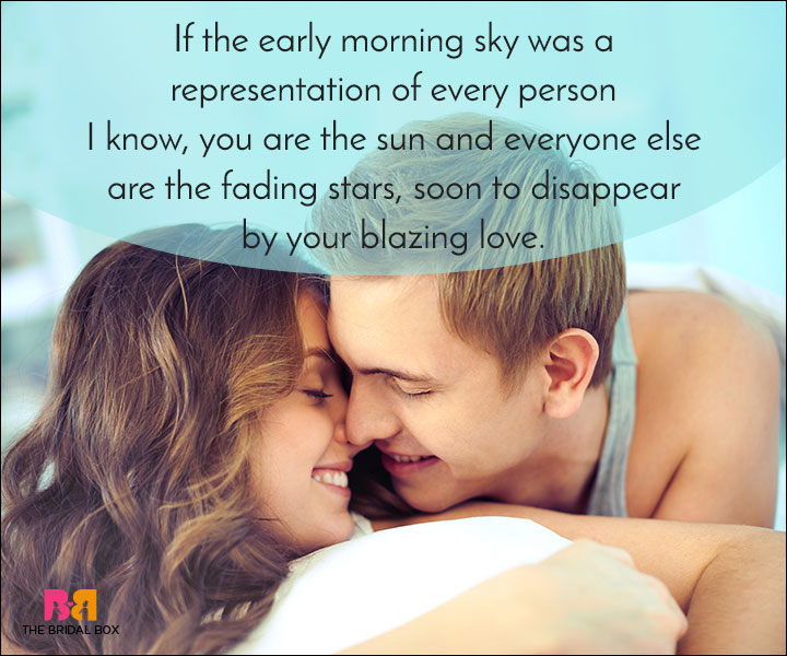 Good Morning Love Quotes - You Are The Sun