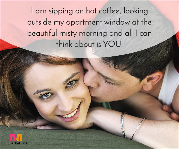 Good Morning Love Quotes - Hot Coffee