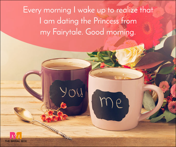 Good Morning Love Quotes - My Fairytale