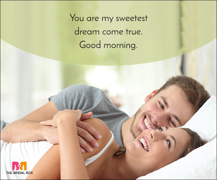 Good Morning Love Quotes - My Sweetest Dream