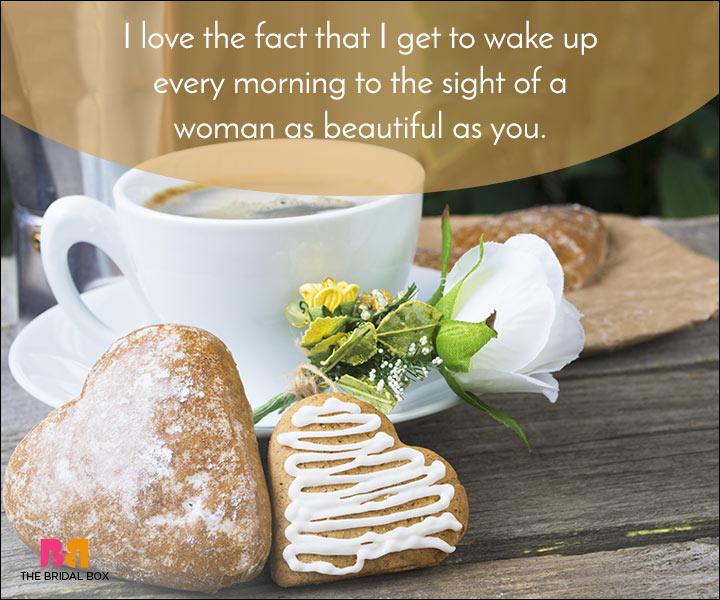 Good Morning Love Quotes - The Sight Of A Woman Like You