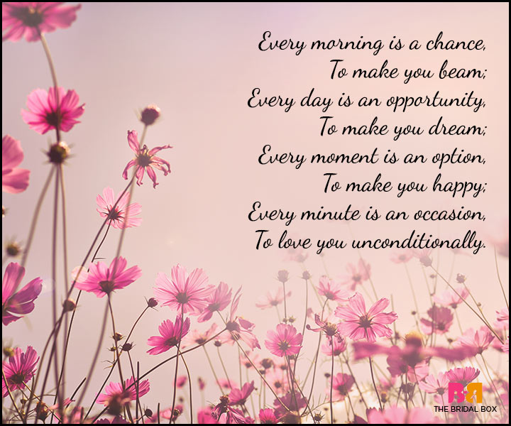 Good Morning Love Poems - Unconditional Love