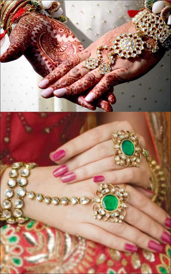 Bengali Bridal Jewellery - Haath Patti