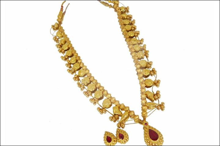 Maharashtrian Bridal Jewellery - Kolhapuri Saaj