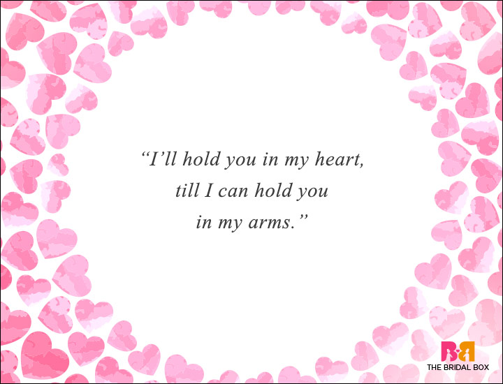 Long Distance Love Quotes - In My Heart