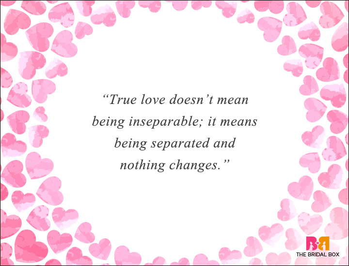 Long Distance Love Quotes - Nothing Changes