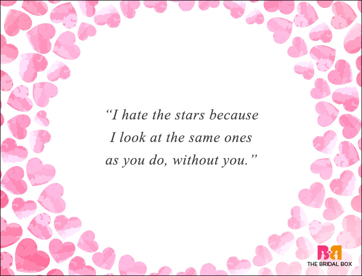 Long Distance Love Quotes - The Same Stars