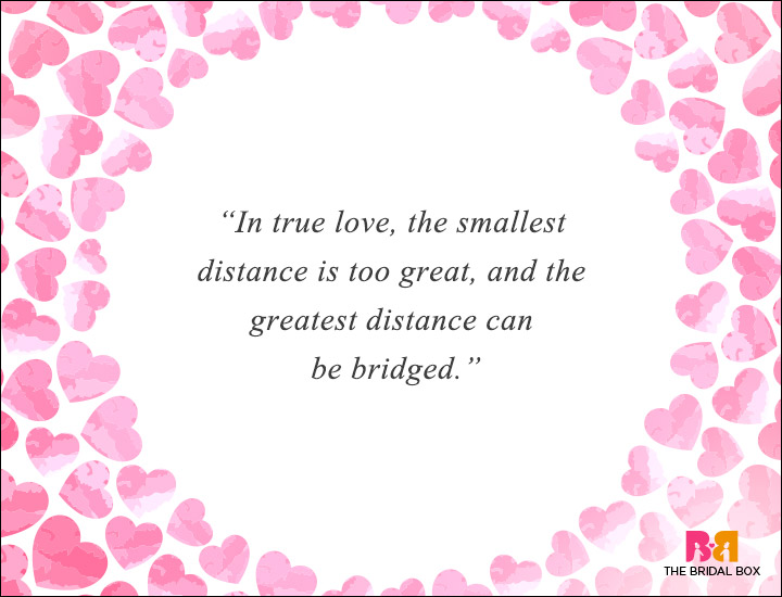 Long Distance Love Quotes - In True Love
