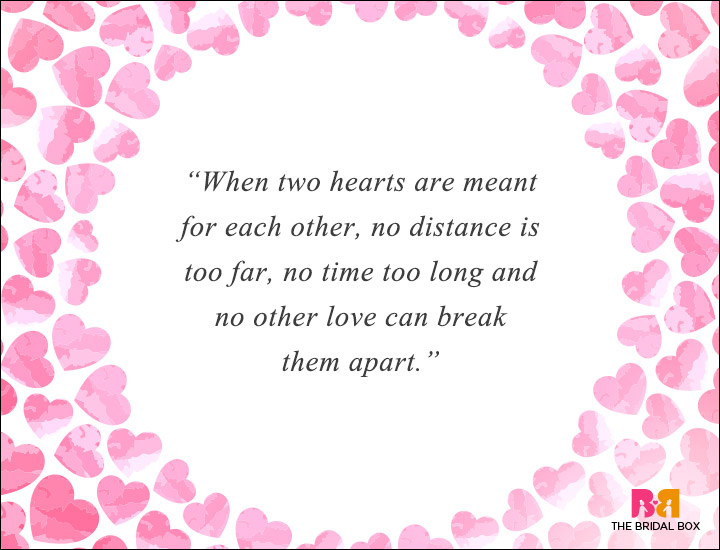 Long Distance Love Quotes - No Distance Too Far