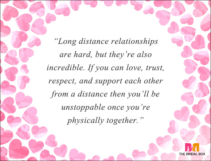 love quotes of long distance relationship