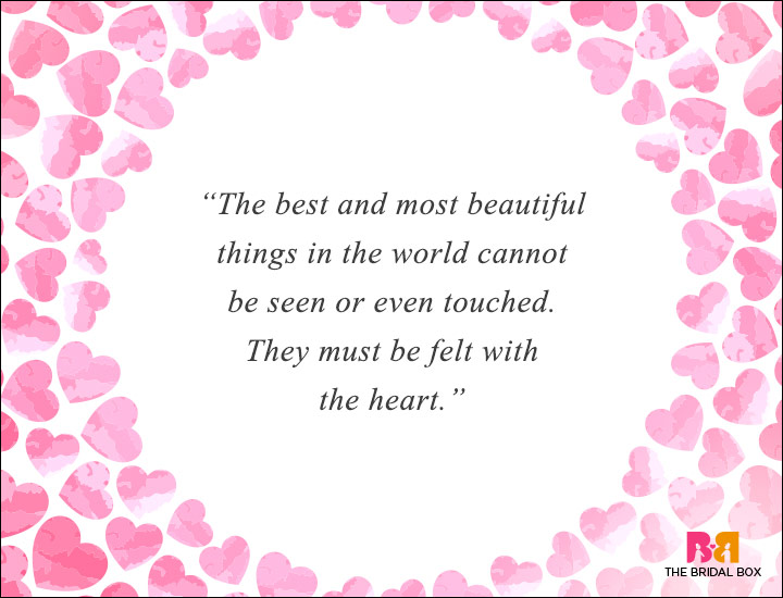 Long Distance Love Quotes - With The Heart