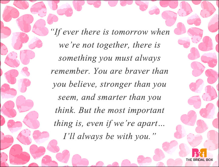 Long Distance Love Quotes - Braver Stronger And Smarter