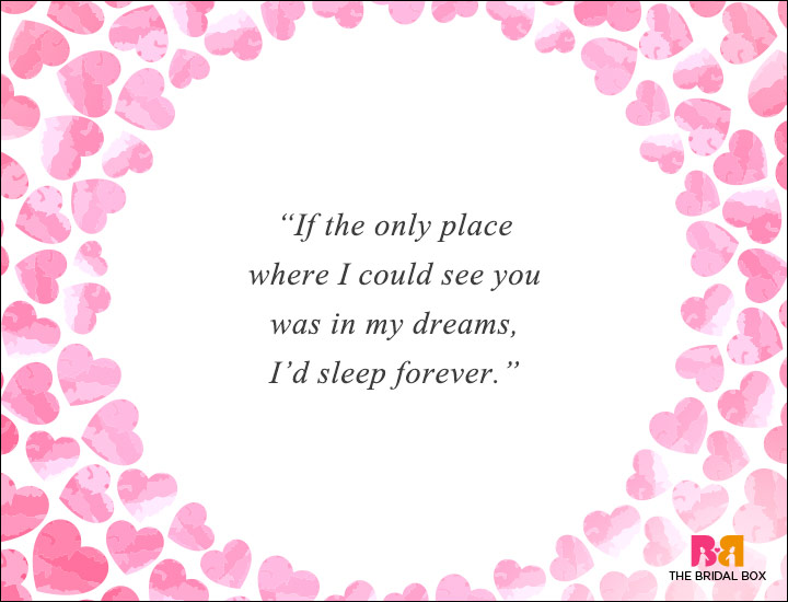 Long Distance Love Quotes - Sleep Forever