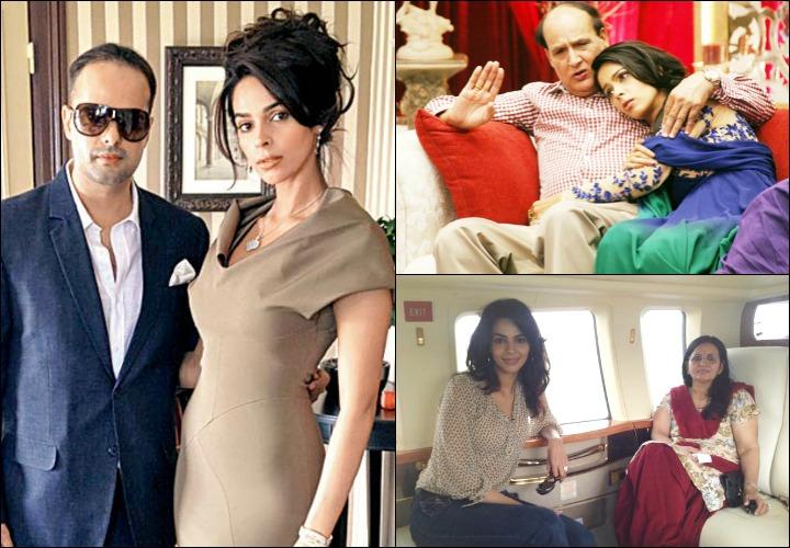 Mallika Sherwat Family