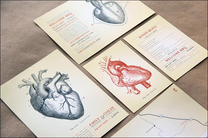 Heart Images For Wedding Invitations: 10 Heart Wedding Invitations Sure To Spread The Love