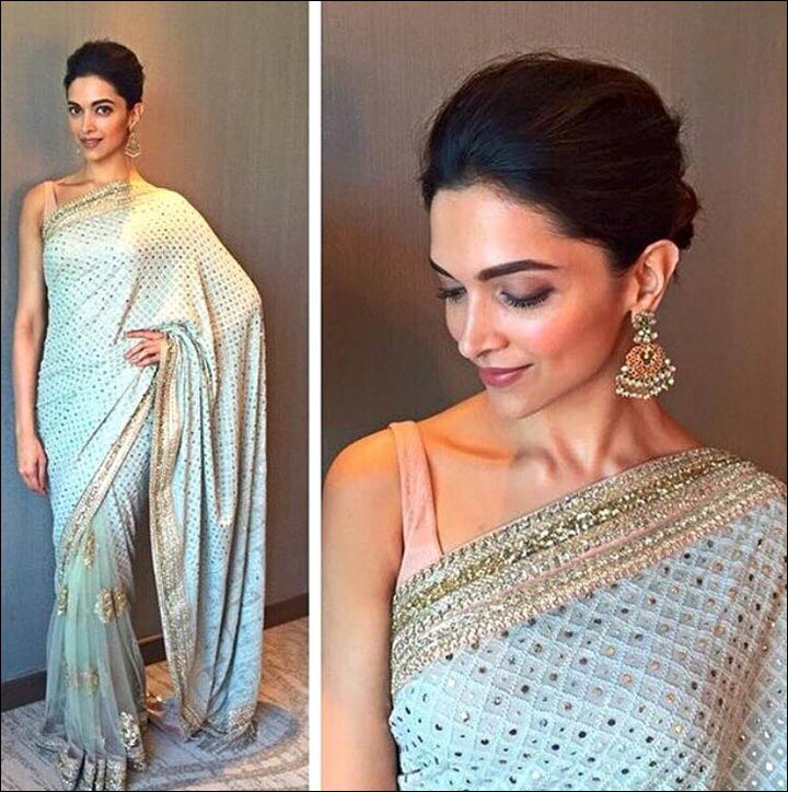 Off White Sabyasachi Bridal Saree