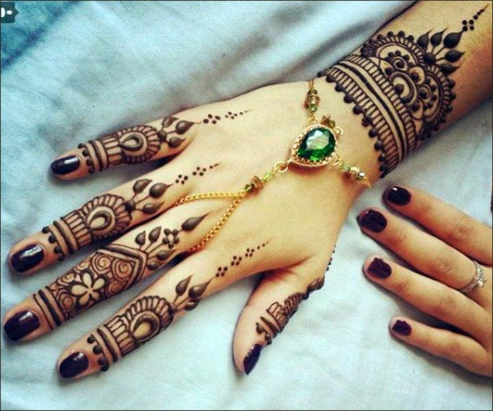 Mehndi Designs Upper Hand : Fabulous mehndi designs for your fingers