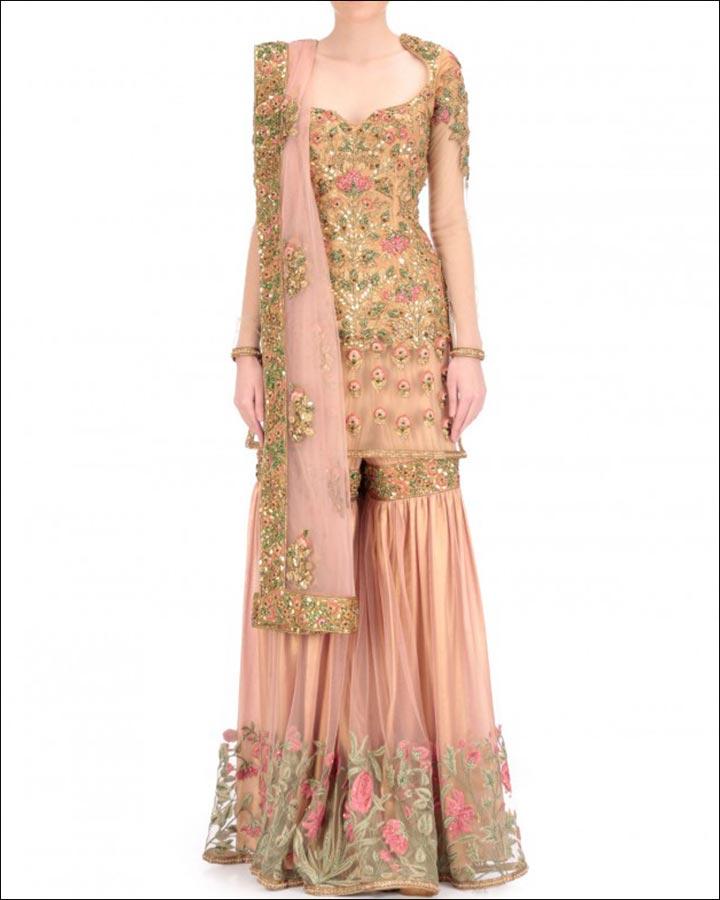 Powder Pink Wedding Dresses: 11 Designer Indian Wedding Dresses That'll Make Your Jaw Drop