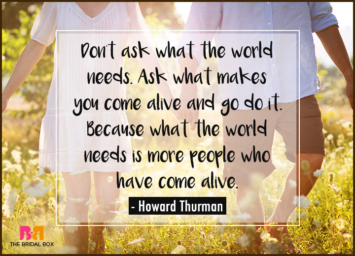 Quotes On Love And Life - Howard Thurman