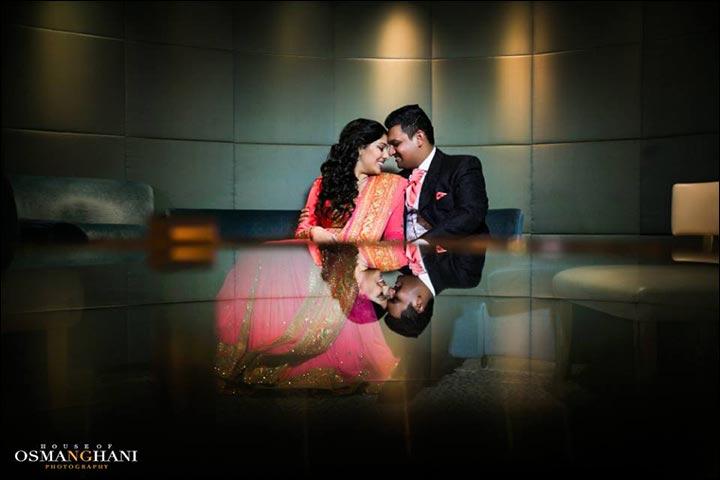 Wedding Couple Photography - Mirrors