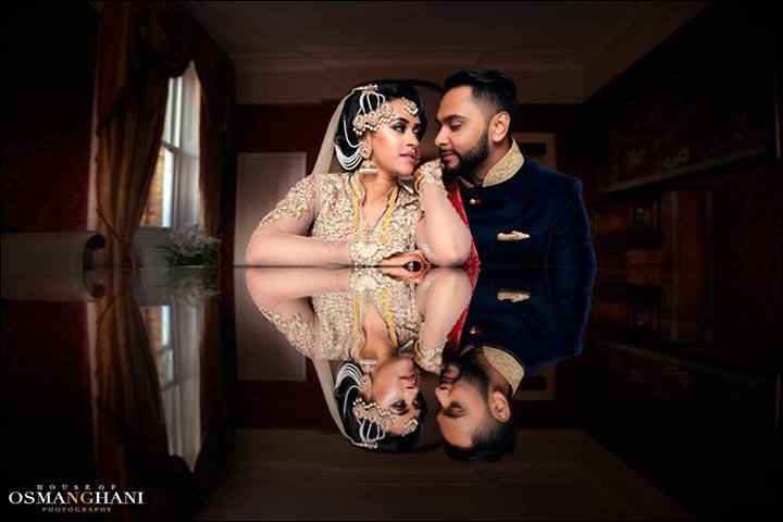 Wedding Couple Photography - Reflections