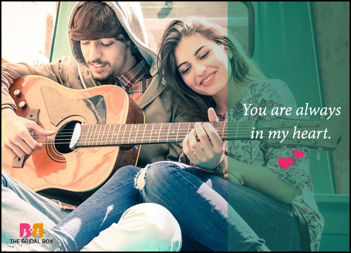 Romantic Love Messages For Him - My Heart