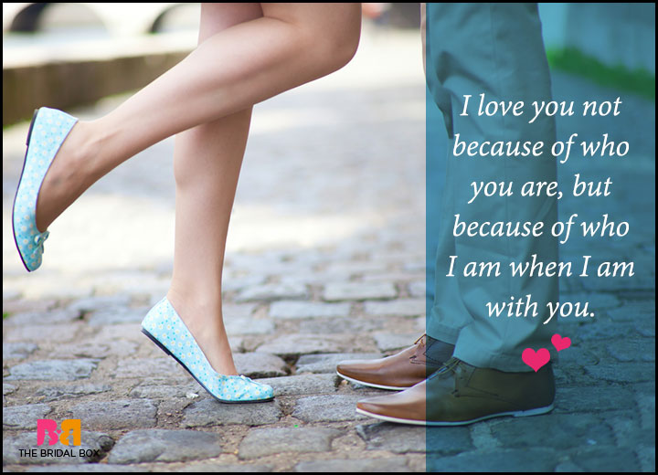 Romantic Love Messages For Him - Because Of Who We Are