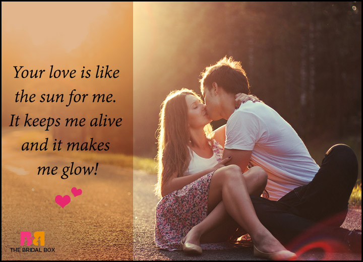 Romantic Love Messages For Him - Like The Sun
