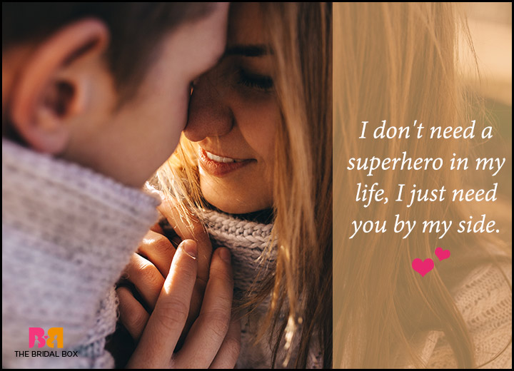Romantic Love Messages For Him - By My Side