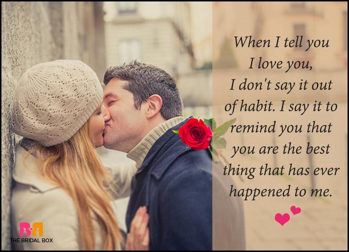 Romantic Love Messages For Him - You're Not A Habit