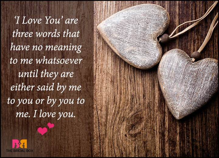 Romantic Love Messages For Him - I Love You