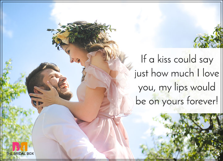 Romantic Love SMS For Girlfriend - A Kiss
