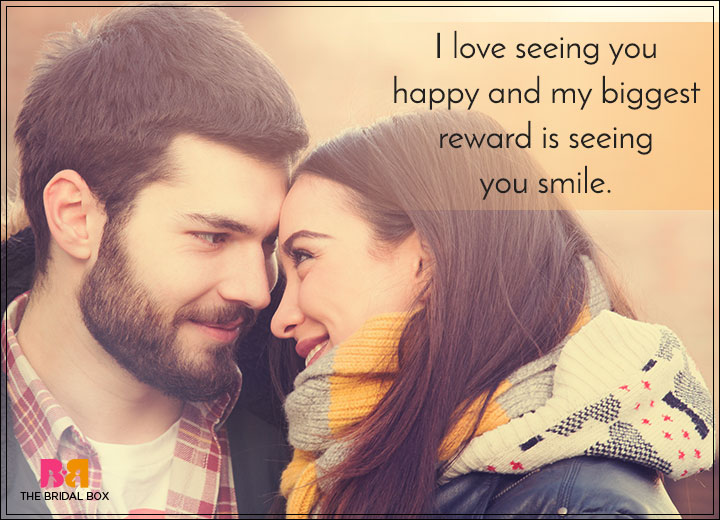 Romantic Love SMS For Girlfriend - Looking At You