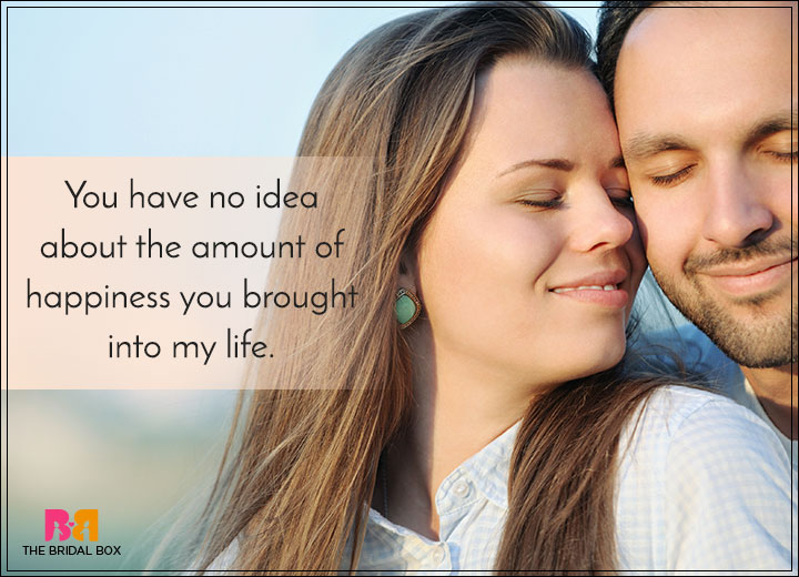 Romantic Love SMS For Girlfriend - Happiness