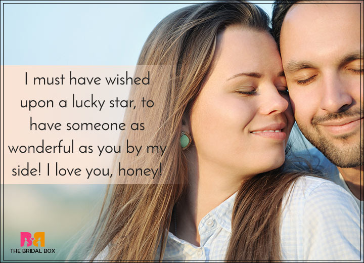 Romantic Love SMS For Girlfriend - A Lucky Star