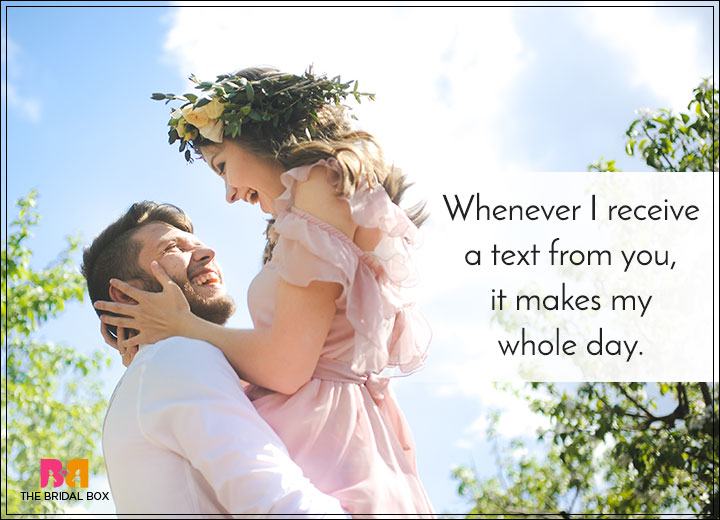 Romantic Love SMS For Girlfriend - A Text From You