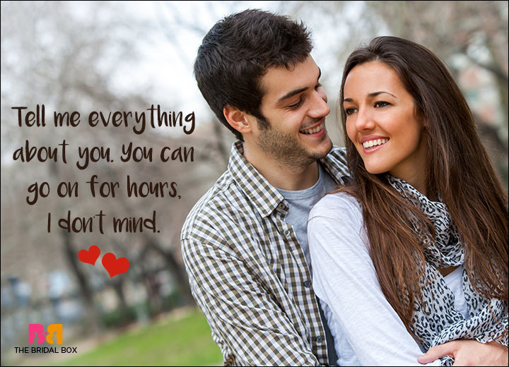 Romantic SMS For Him - Tell Me Everything