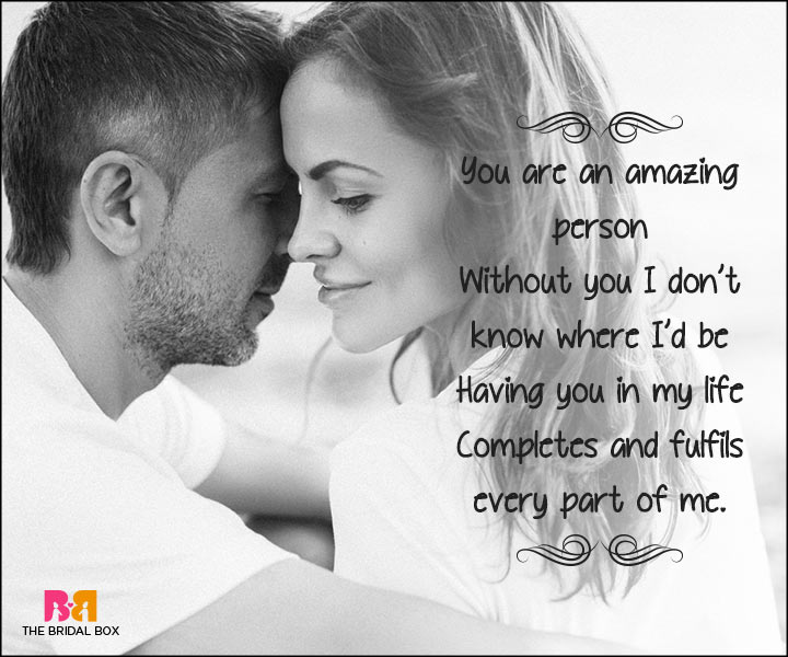 Short Love Poems For Husband - You Are Amazing