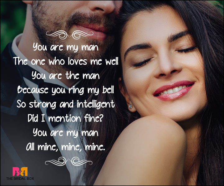 Short Love Poems For Husband - You Are The Man