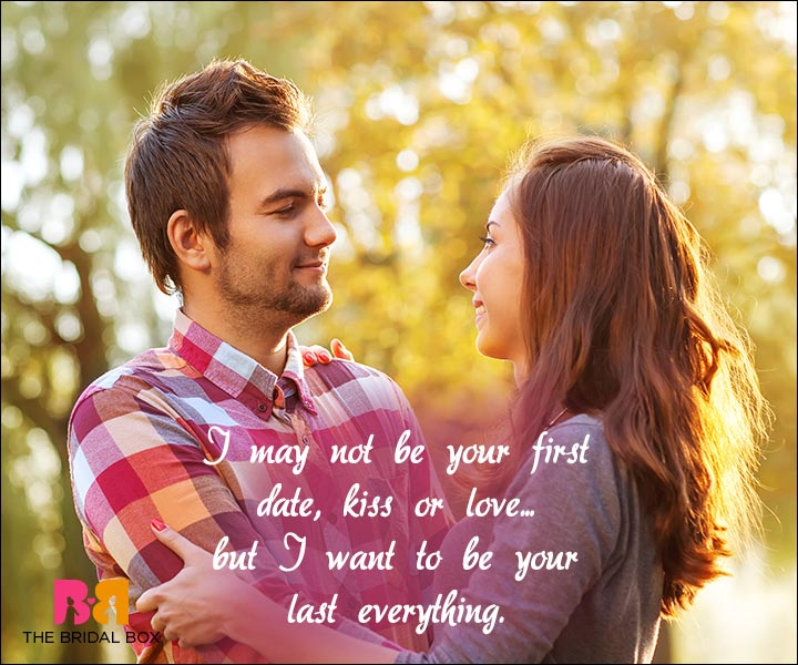 Short Love Quotes For Him - Your Last