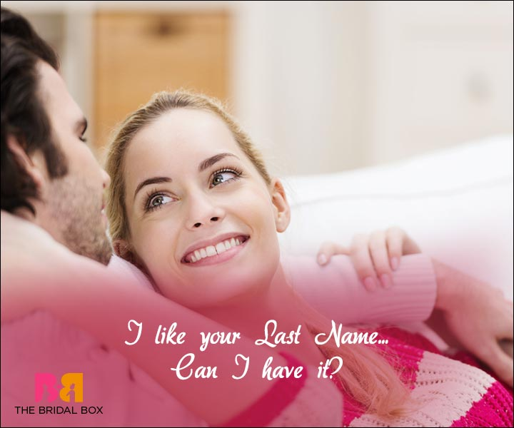 Short Love Quotes For Him - Your Last Name