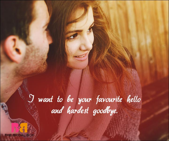Short Love Quotes For Him - Your Favourite Hello
