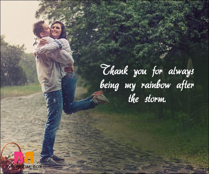 Short Love Quotes For Him - My Rainbow