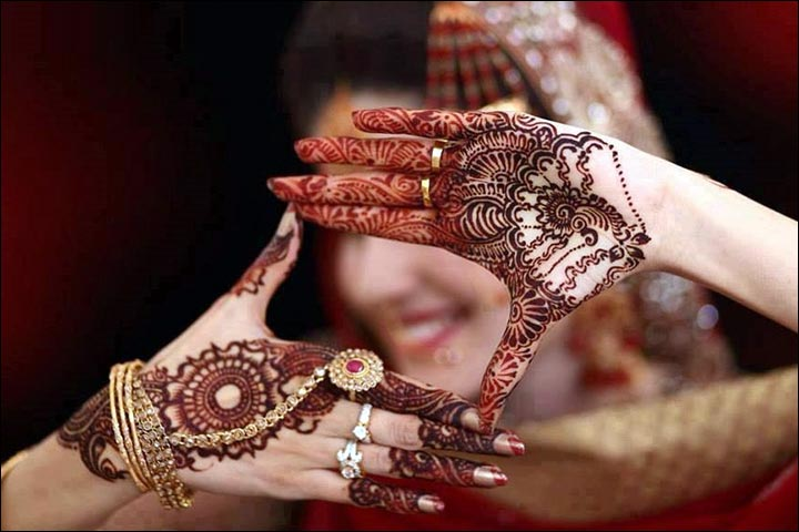 Pakistani Bridal Mehndi Designs - Simple and stunning