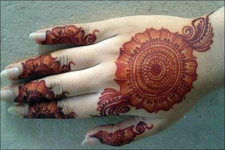 Shaded Mehndi Designs - Sophistication At Its Best