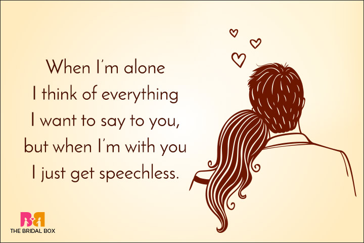 Relationship Quotes For Her - Speechless